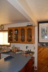 Our fancier cabinets for fancier glassware.