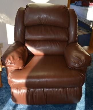 Grandpa's chair - comfey!