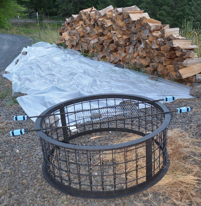 Campfires at Moose Head | Dude ranch vacations |Dude Ranch Fire Pit
